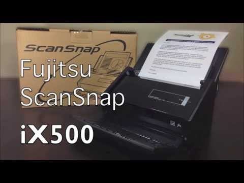 ScanSnap iX500 Unboxing, Setup & Overview