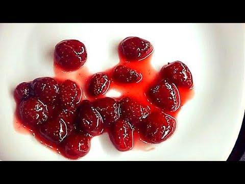 Как варить клубничное варенье, чтобы все ягодки были целые.