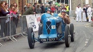 Vintage Cars at Bromyard Speed Festival 2016 (1926 Salmson Twin Cam)