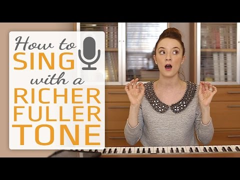 How to sing with a richer fuller tone - Singing Exercises #1