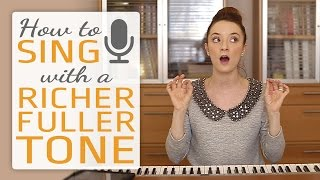 How to sing with a richer fuller tone - Singing Exercises 8.5 MB