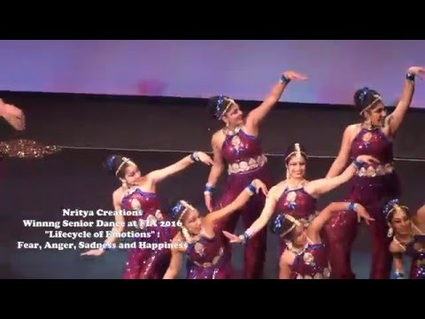Nritya Creations Winning Senior Category Dance at 2016 FIA DPC Competition