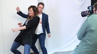 Sam Rockwell and Allison Janney Discuss How to Laugh and Cry on Cue