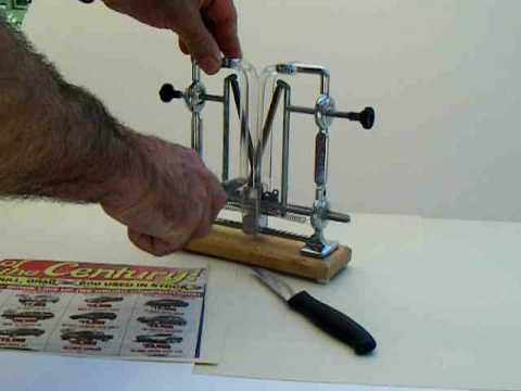chef warthog v sharp knife sharpener nib youtube. Black Bedroom Furniture Sets. Home Design Ideas