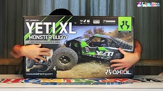 AXIAL YETI XL KIT Unboxing - Trailed Suspension AWESOMENESS!