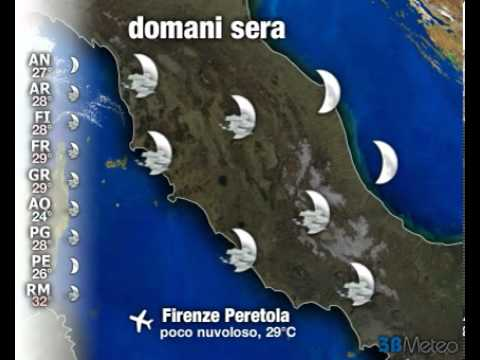 Meteo ITALIA del 09/08/2012