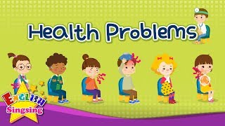 Kids vocabulary - Health Problems - hospital play - Learn English for kids