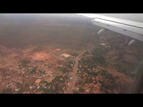 Transavia Landing Banjul International Airport - The Gambia [HD]