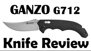 🗡Ganzo G712 the knife with Persian styling. It's not just about good looks.
