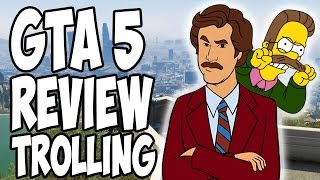 "GTA 5 ""REVIEW"" TROLLING"