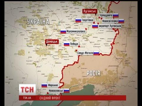 Карта Днр И Лнр Сегодня