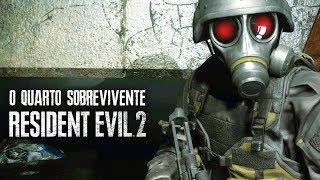 RESIDENT EVIL 2 Remake - Hunk, o Quarto Sobrevivente! | Modo Extra de Gameplay!