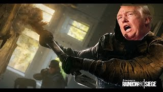 Rainbow 6 Funny Moments, Donald Trump Song? 2 Ranked Matches, Randomness