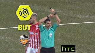 But Wesley LAUTOA (86') / AS Nancy Lorraine - FC Lorient (2-3) - / 2016-17
