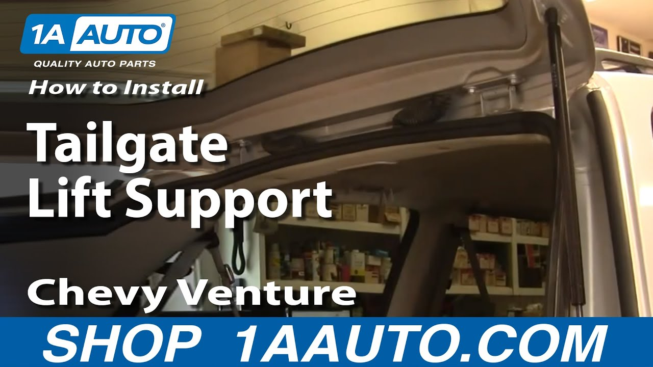 How To Install Replace Sagging Rear Tailgate Hatch Chevy