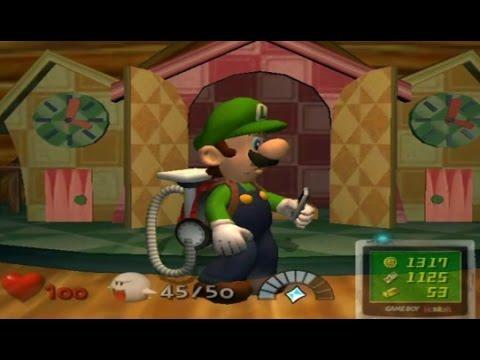 Luigi's Mansion Walkthrough Part 7 - Boo Hunting