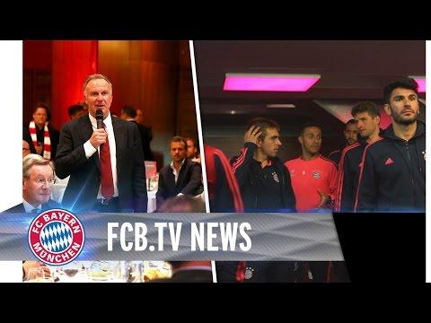 """""""Ich möchte nach Mailand!"""" - Bankett nach dem Halbfinal-Hinspiel bei Atlético"""