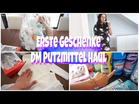 Erste Geschenke für's Baby I Gesichtspflege ROUTINE I DM Putzmittel Haul