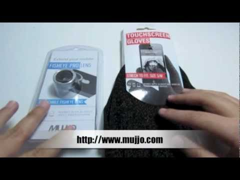 Review Mujjo Guantes Touchscreen Y Lente Fisheye Para Tus Dispositivos Moviles