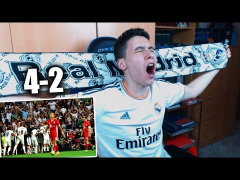 REACCIONES DE UN HINCHA Real Madrid vs Bayern Munich 4-2 CUARTOS DE FINAL CHAMPIONS LEAGUE  2017 thumbnail