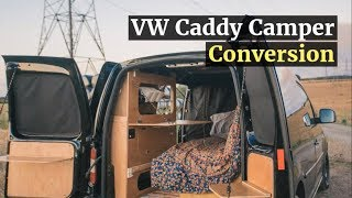 012 VW Caddy Camper Conversion - Inspiring Builds