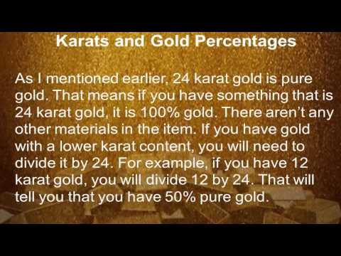 Gold Prices (Part 1) - Understanding The Value of Gold