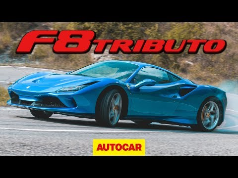 Ferrari F8 Tributo 2020 review - 710bhp V8 supercar on road and track | Autocar