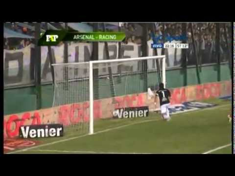 Arsenal 1 vs Racing Club 0 -Fecha 14 final 2013-Paso a Paso-TyC Sports