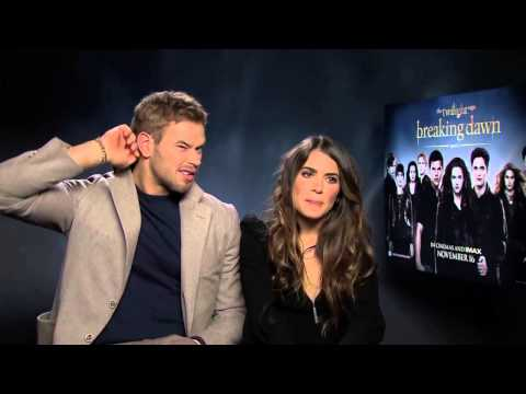 Nikki Reed And Kellan Lutz Interview -- The Twilight Saga: Breaking Dawn Part 2