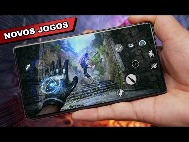 Saiu NOVO MUNDO ABERTO e NOVOS jogos para ANDROID 2020