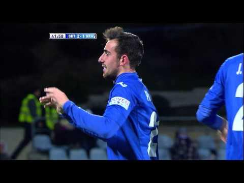 Gol de Paco Alcácer (2-1) en el Getafe CF - Granada CF - HD