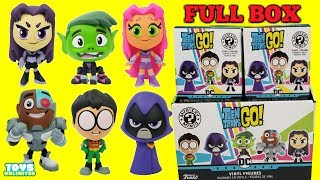 TEEN TITANS GO! Mystery Minis Funko Pop Collectors Set