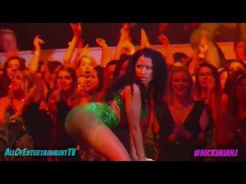 Twerking Ass Match Between   Nicki Minaj Twerk vs Iggy Azalea Twerk ✪ AllOfEntertainmentTV thumbnail