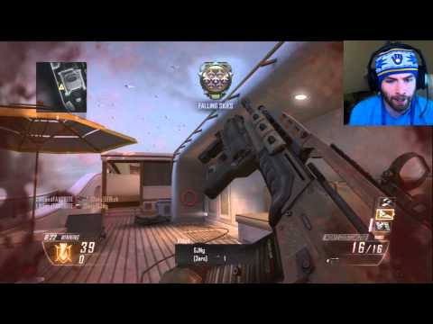 Black Ops 2 HIGHEST KILL STREAK Swarm Gameplay Footage -BO2 Multiplayer Swarm Kill Streak