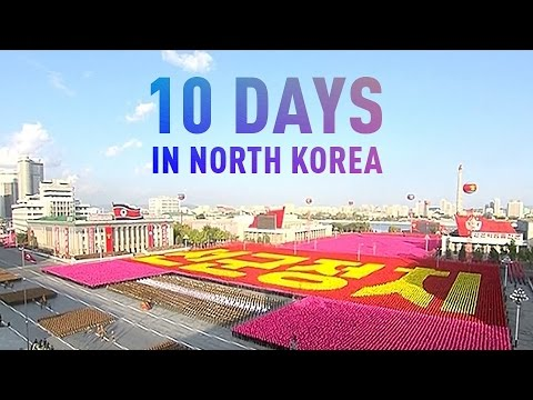 10 Days In North Korea video