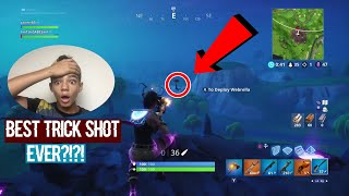 My best trick shot/no scope(possibly the best trick shot in the world)