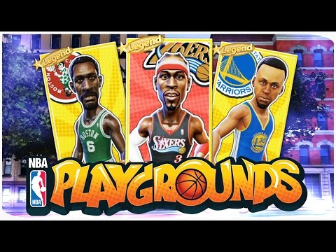 РАЗНОШУ ОНЛАЙН ЛЕГЕНДАМИ! ТРЁХОЧКОВЫЕ! ● NBA PLAYGROUNDS