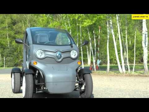 The New Small Car Renault Twizy EV