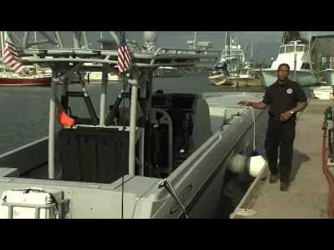 Customs Border Patrol High Speed Boats Video