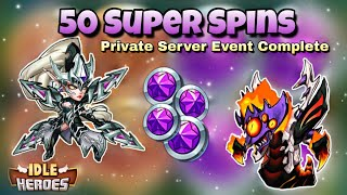 Idle Heroes (P) - Wishing Fountain Event Complete! - 50 Super Chip Spins