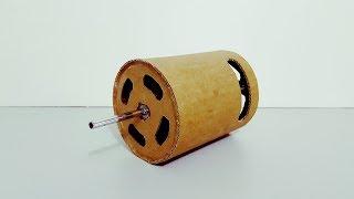 Cómo Hacer un Motor Eléctrico de Cartón | Muy fácil de hacer
