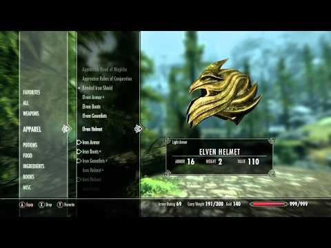 The Elder Scrolls V: Skyrim - Demo Part 1