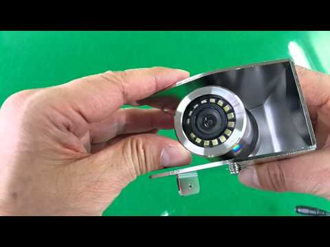 iMS-Stainless steel housing & Cover Bracket Camera