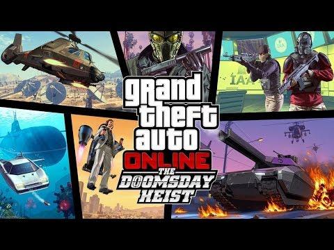 "GTA 5 - DOOMSDAY ""FINAL HEIST"" COMPLETED GAMEPLAY! (NEW GTA V ONLINE DLC DOOMSDAY ACT 3 HEIST)"
