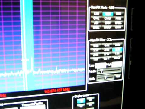 Satellite reception of VO52 with genesis SDR and Transverter