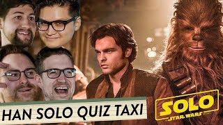 HAN SOLO Quiztaxi mit den Rocketbeans, Nerdkultur, MrTrashpack u.v.m.   Solo -  A Star Wars Story
