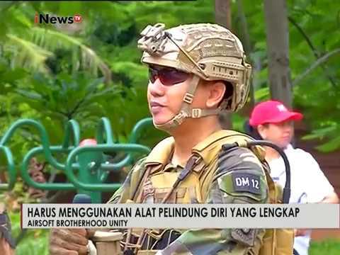 Harga Airsoft Gun berkisar Rp. 5-7 Juta - iNews Pagi Super Sunday 05/02