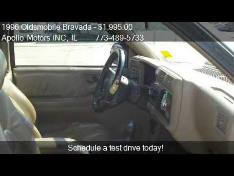 Oldsmobile Bravada 1996 1996 Oldsmobile Bravada Base