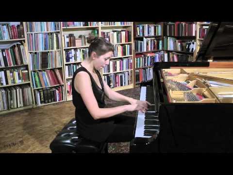 LISZT - Valse-Impromptu - Alexandra Joan, piano