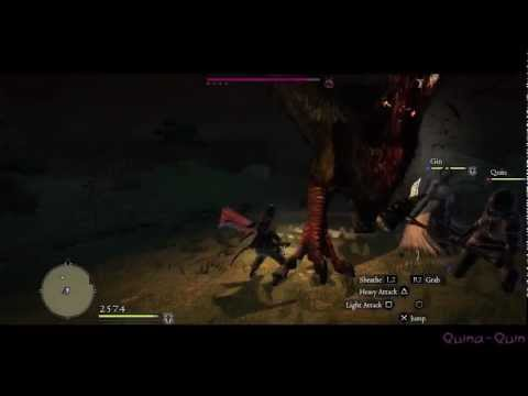 Dragon's Dogma - Night Gameplay with a Surprise Guest